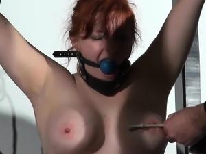 Swedish debutant slave girl Vickis