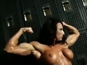 Female Bodybuilder Strips