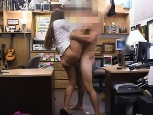 This lady had an amazing ass and nice natural mounds