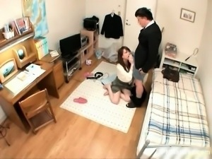 Flawless asian bitch craves for a big part5