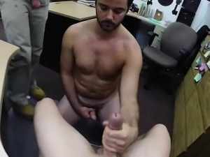 Hunk military dude gets his ass fucked