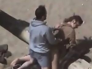 Couple Caught Secretly Fucking