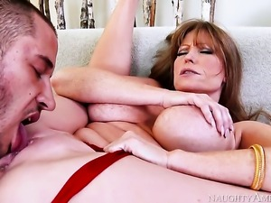 Danny Mountain has a great time banging Darla Crane with huge jugs and...