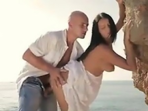Married Couple Fucking By The Ocean