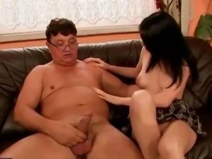 Grandpas and Teens Hot Sex Compilation