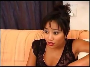 Nicely-tanned Asian tart prepares for an intense sexual intercourse