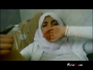 Yasmine With Hijab Fucked free