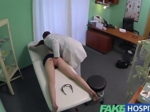 Fake Hospital Innocent redhead gets a creampie injection