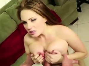 Sexy daughter ass fucked by older guy then gets cum facial
