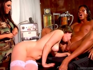 dominated by two mean sluts