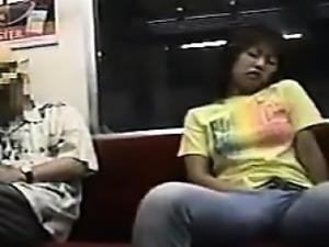 Masturbating On The Subway