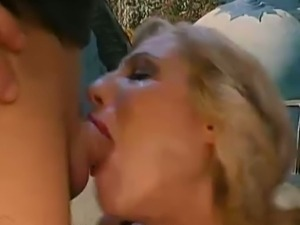 German chick enjoys rough fucking with pissing