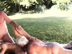 Milf got shared by old pervers