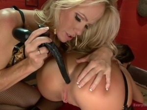 sexy slut has her ass plugged