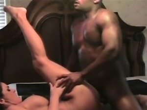 Cheating Brunette Housewife Banged By Black Guy On Spy Cam