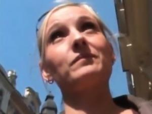 Czech girl picks up from the streetand part3