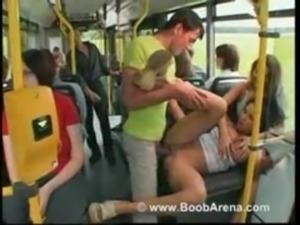 Laura Lion - sex on public bus free