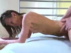 Glamour model anal punishment