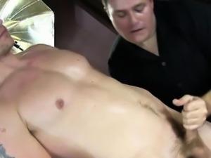 Straight jock amateur dick gay massaged
