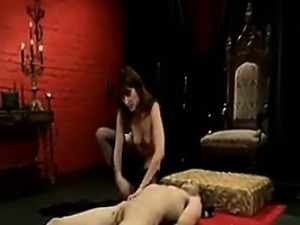 Mistress Abusing Her Slave