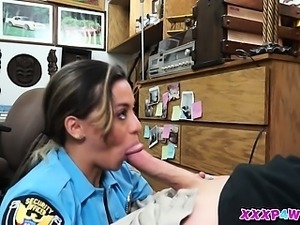 She Is a Police Officer But I Fucked Her Anyway