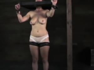 Stocked submissive slut getting punished