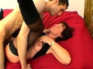 Huge cock in the Brigitte\'s asshole