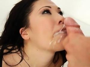 Huge boobs asian whore London Keyes double penetrated