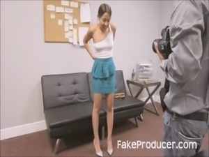 FakeProducer Tricks Petite Latina Into A Blowjob During Casting Audition free