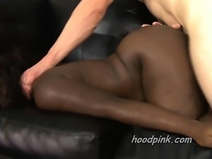 Shocking white on black rough sex