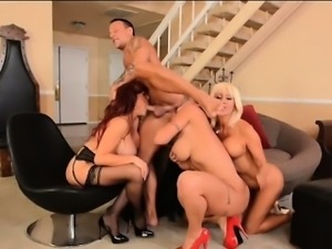 Kurt Lockwood Gets Eva Notty, Sexy Vanessa and Tara Holiday