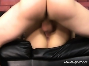 Ramming Her Tight Hole With Fat Cock Takes Endurance
