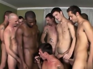 Gay clip of With a boner in each hand and at least one in hi