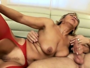 Horny Guy Spreads Pussy Lips