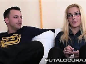 This young couple met with Torbe to show us how they fuck