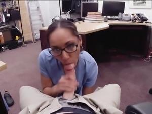 Nurse gets a messy and sticky facial
