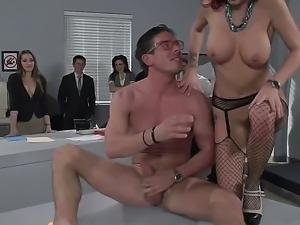 Butt fucking in public with Monique Alexander