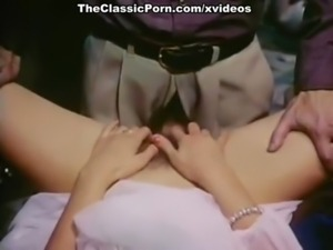 Sexy lady has a fuck in classic porn movie free