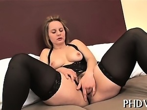 Raunchy slut is pounded