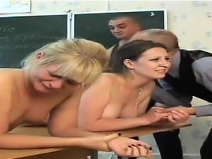 Hot student body cumshot