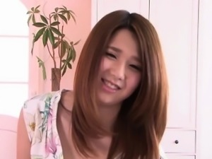 Facialized asian teen