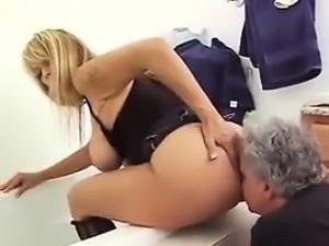 Mature Woman Abuses Her Kinky Husband