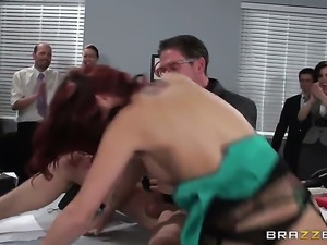Monique Alexander fucking like theres no tomorrow in anal action with hot guy...