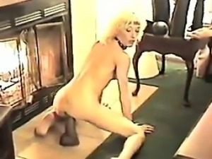 This Blonde Has A Lot Of Adult Toys