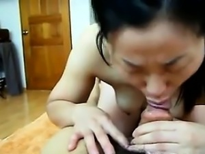 Horny Asian And Her Husband Having Sex