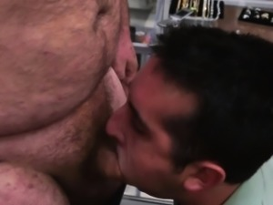 Pawnshop amateur assfucked for punishment
