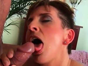 You can cum in mom\'s mouth