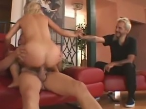 Wifey requested her hubby to fuck a stranger cock