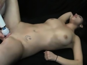 Hot Teen Massaged To Squirting Orgasms