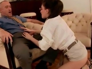Grandpas and Young Girls Hot Sex Compilation